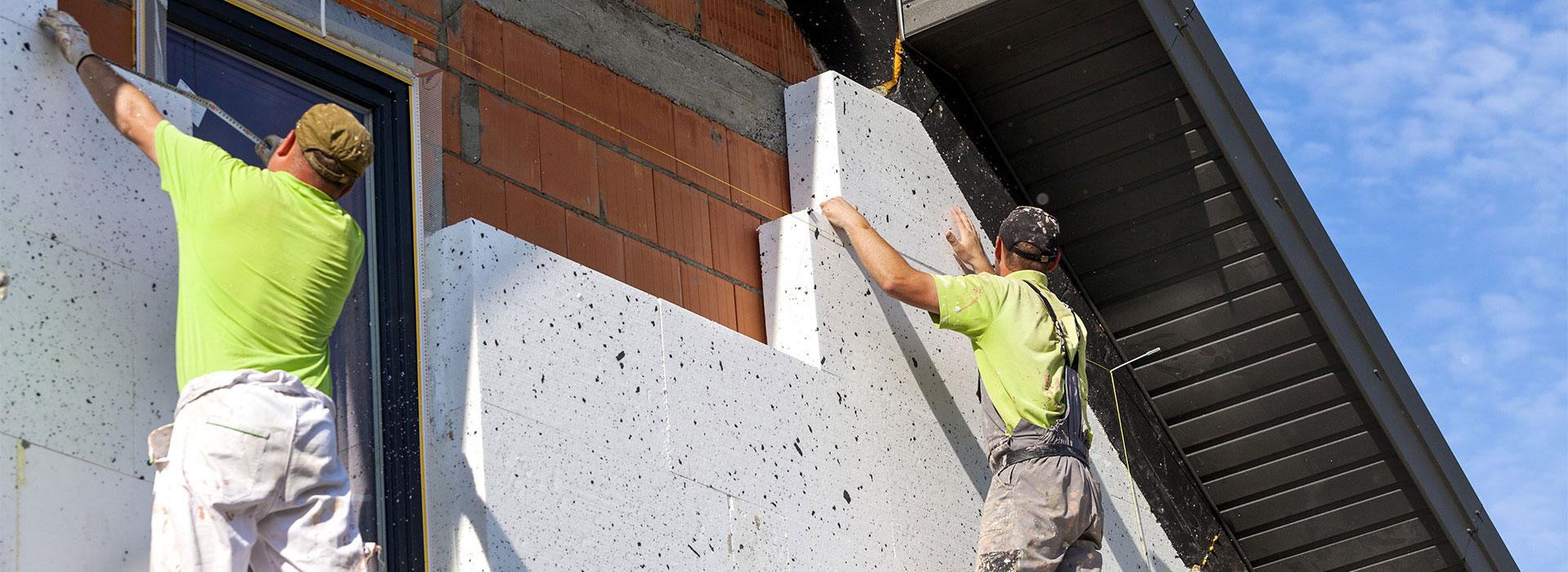 Fassadenrenovierungsarbeiten