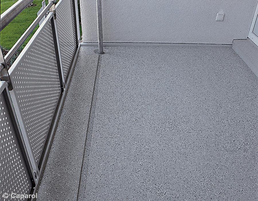 Bautenschutz Balkonböden
